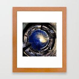 Sailboat World Framed Art Print