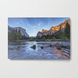 Evening, Yosemite Valley Metal Print