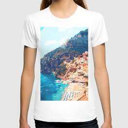 Positano, beauty of Italy T-shirt