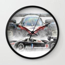 Peugeot 908 Wall Clock