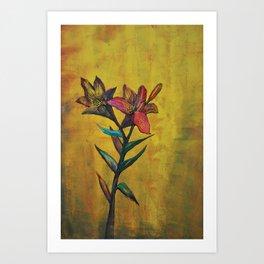 Lilies Art Print