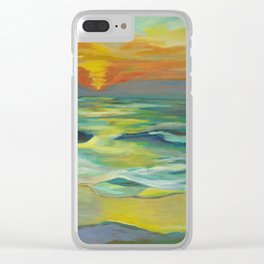 Beauty of Freedom Clear iPhone Case