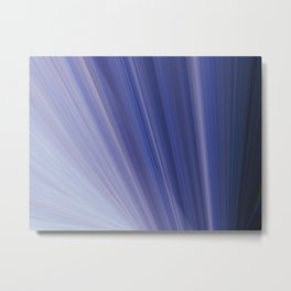 Light Blue Range Metal Print