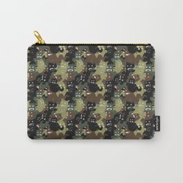 Ghost Camouflage Pattern Carry-All Pouch
