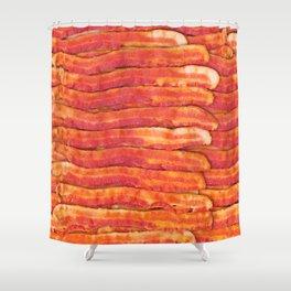 Jasper's Breakfast Shower Curtain