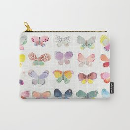 Painted butterflies Carry-All Pouch