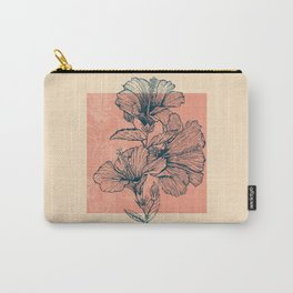 Hibiscus Colors Carry-All Pouch