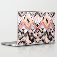 southwest Laptop & iPad Skins featuring Southwest Floral by Casey Saccomanno