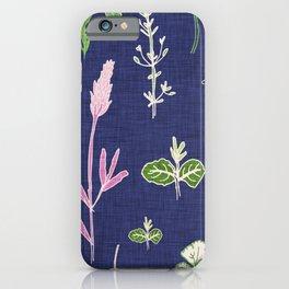 Aromatherapy Blue iPhone Case