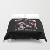 ed sheeran Duvet Covers featuring ed 209 by Buby87