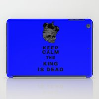 keep calm iPad Cases featuring Keep calm by lescapricesdefilles