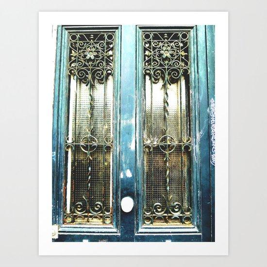 The Door 20 Art Print