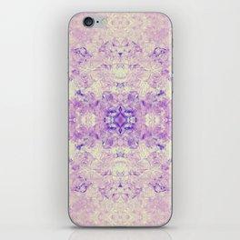 Fuzzy kaleidoscope iPhone Skin