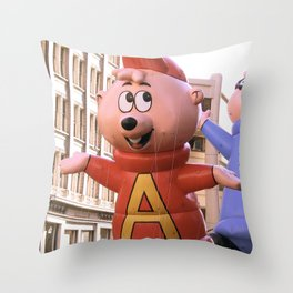 ALVIN! Throw Pillow