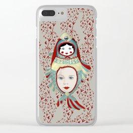 Mermaidoska Clear iPhone Case