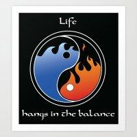 Life's Balance Art Print
