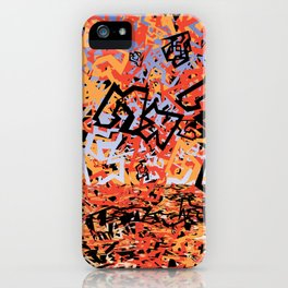 Shattering Sky iPhone Case