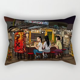 Untitled by Rodman Lok Rectangular Pillow