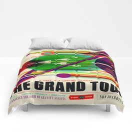 Vintage poster - The Grand Tour Comforters