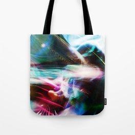 """Cosmic Flow"" Tote Bag"
