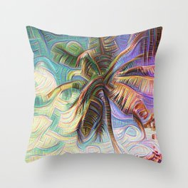 Inceptionist Palm Throw Pillow