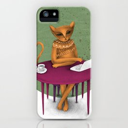 busy pretending iPhone Case