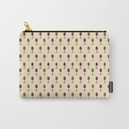 Wine Print Carry-All Pouch