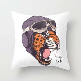 ACES HIGH! Throw Pillow