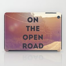 on the open road. iPad Case
