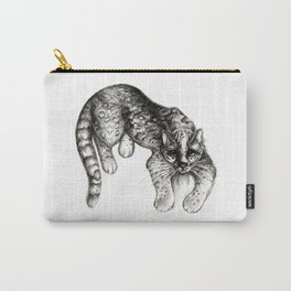 Tropical Wild Cat Carry-All Pouch