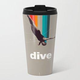 Dive Into My Soul Metal Travel Mug