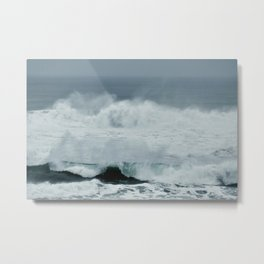 POWERFUL PACIFIC OCEAN Metal Print