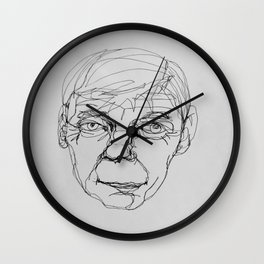 continuous line Wall Clock