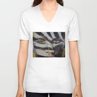 carnival V-neck T-shirts featuring Carnival by Michael Creese