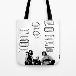 Princess Bride Peanut Rhyme Tote Bag