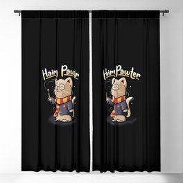 Hairy Pawter Blackout Curtain