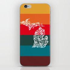Michigan Colors iPhone & iPod Skin