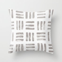 imprint 2 Throw Pillow