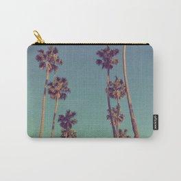 Palm Tress. Classic Santa Monica. CA Carry-All Pouch