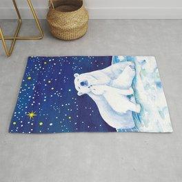 Polar bears, arctic animals Rug