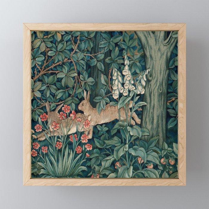 "John Henry Dearle ""Greenery"" 4. Framed Mini Art Print"