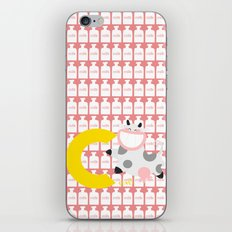c for cow iPhone & iPod Skin