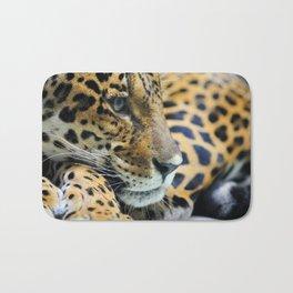 Portrait of jaguar, panthera onca Bath Mat