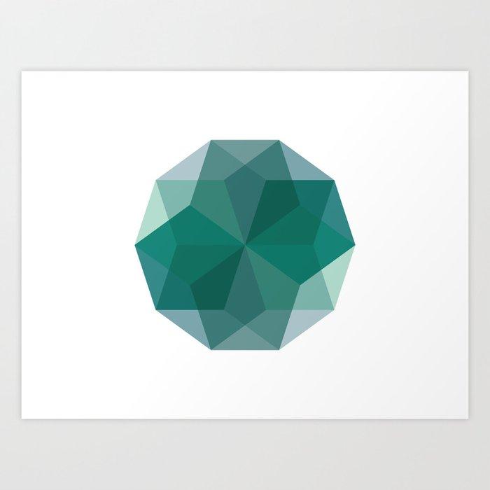 Shapes 011 Art Print