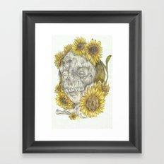 Sun Decay Framed Art Print