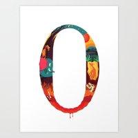 NeueFable 0 Art Print