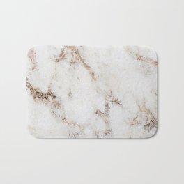 Artico marble - rose gold accents Bath Mat