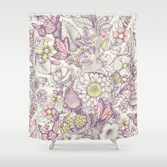 Beauty (eye of the beholder) - pale version Shower Curtain