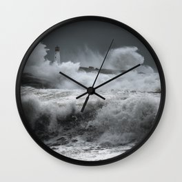 Winter Nor'Easter Wall Clock