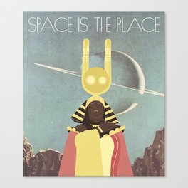SUN RA: SPACE IS THE PLACE Canvas Print